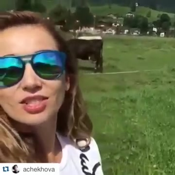 Как Анфиса Чехова похудела в Альпах